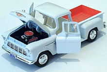 1955 Chevy Pickup - White