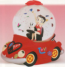 Betty Boop Love Bug Motion Musical
