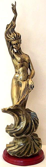 Bronze Goddess - B