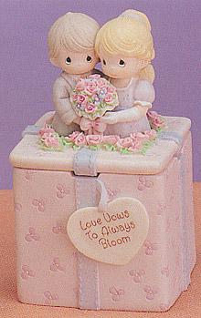 Ceramic Gift Box - Love Vows
