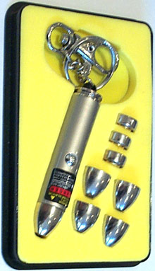 5 Head Laser Pointer(silver)