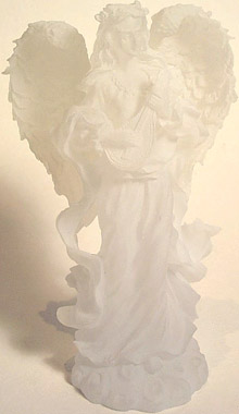 White Angel Sculpture